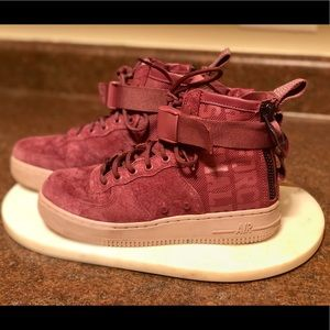 Force is Female Nike Air Force One Mid Rise